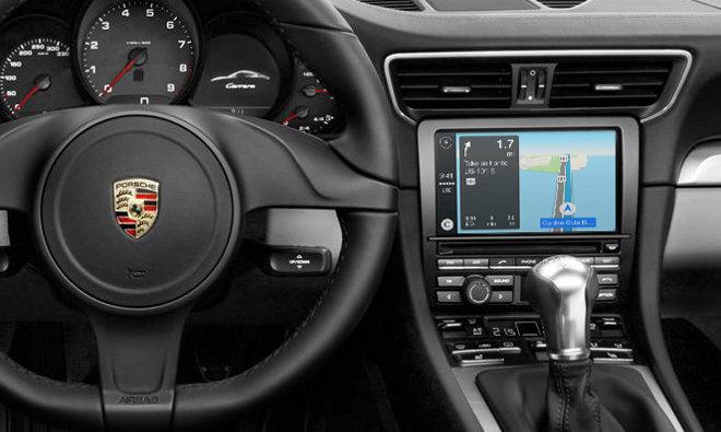 Apple の「CarPlay」ラインナップにポルシェが追加