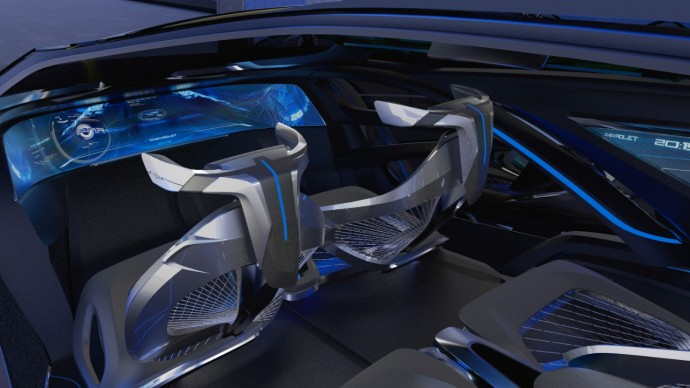 Chevrolet-FNR運転席