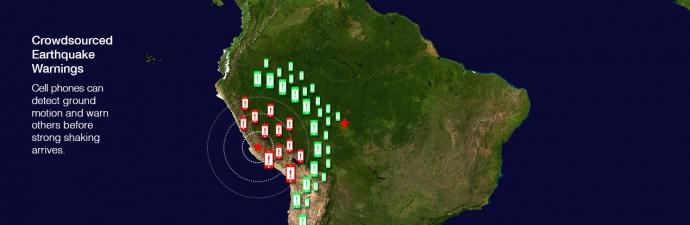 地震計が不要に!? スマホで地震早期警報システムが構築できることが判明