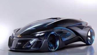 SFのワンシーン!? 次世代コンセプトカー『Chevrolet-FNR』の見た目が超絶カッコイイ
