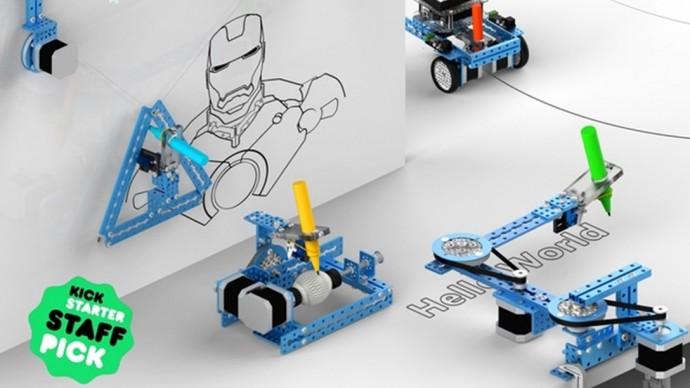 絵が苦手な人の必需品?壁や曲線にも対応できる自動描画ロボット