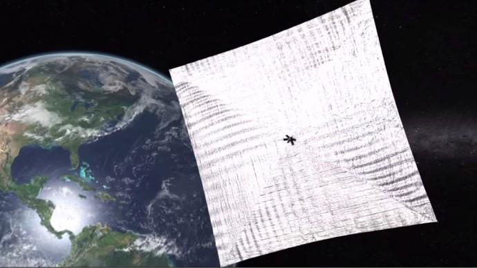 宇宙好きなら参加したい?海外クラウドファンディングで注目の太陽光で動く宇宙船「LightSail」