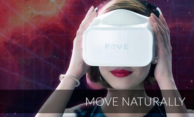 視線で全てをコントロール!アイトラッキングセンサーを備えたVRヘッドセット「FOVE」