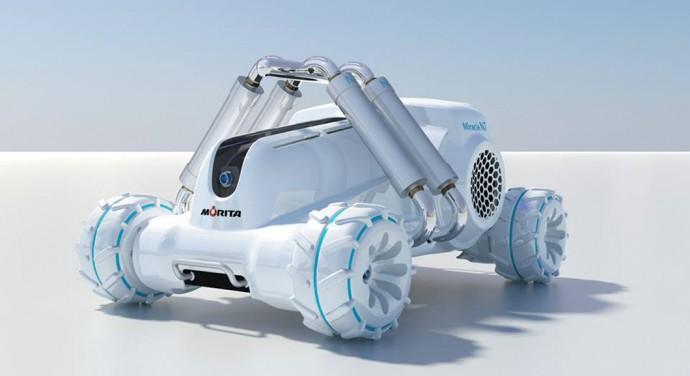 空気で消火する小さな消防車が登場!日本メーカーの技術力を世界にアピール