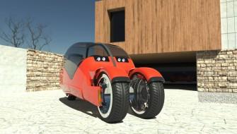 ありそうでなかった「1台2役モビリティ」!真っ二つに分かれてバイクになる自動車