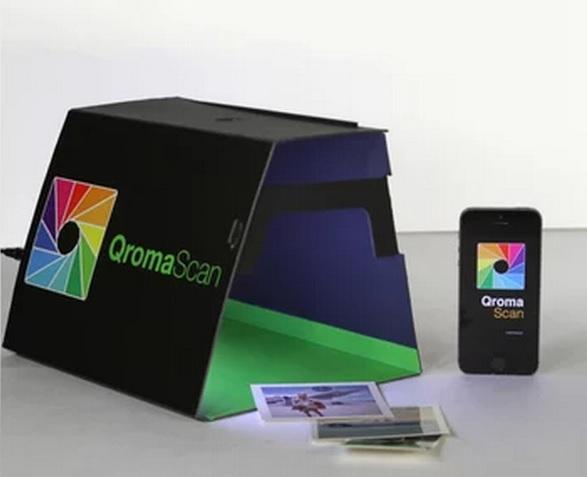 昔の写真でも簡単にiPhoneに取り込めるスキャンボックス