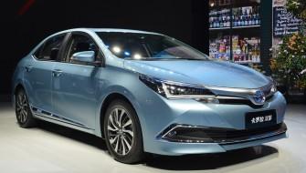 上海モーターショーでトヨタが発表!世界初となる現地開発HV