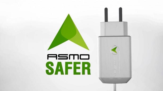 残電流をシャットアウト!発火のリスクを下げる充電器「ASMO Charger」