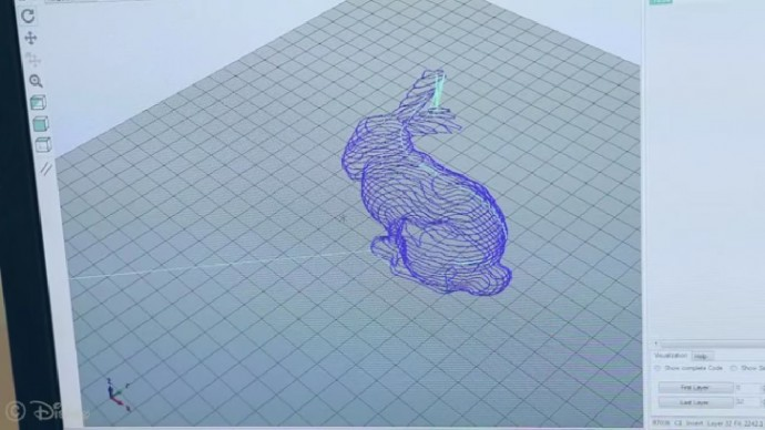 3Dモデルをスライスする