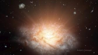 ブラックホールの謎にも迫る!? NASAが宇宙で最も明るい銀河を発見