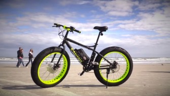 ただ速いだけじゃない!? 超パワフルな電動アシスト自転車「Xtreme Fat Tire Bikes」