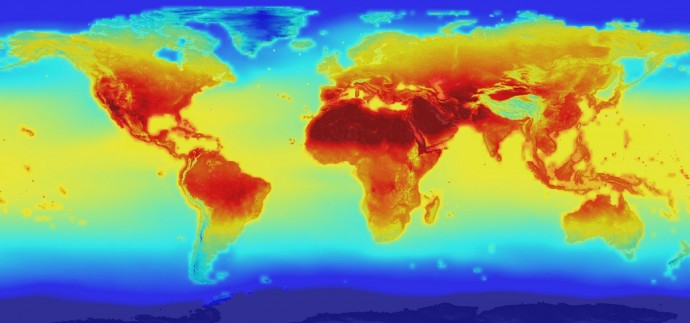NASAが2100年までの「地球の気候変動予測」データを公開