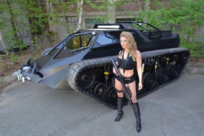 こいつを乗り回してみたい!? 超豪華タンク「Ripsaw EV-2 」