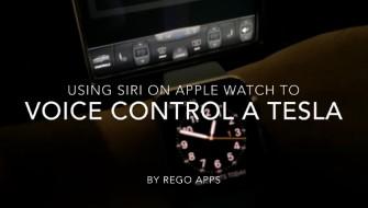 Apple Watch に話しかけてTeslaを遠隔操作する