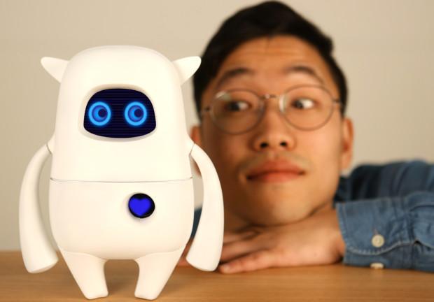 子どもと共に成長する人工知能ロボット「Musio」