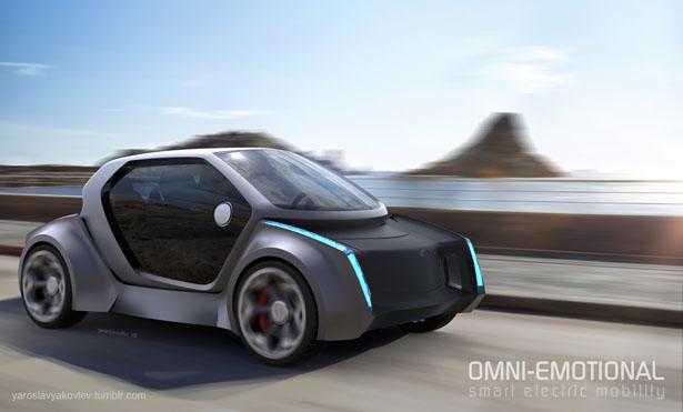 次世代の都市用スマートモビリティとなるか?「OMNI-CAR」の発想がおもしろい