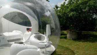 未来の別荘はこうなる?360度の景観を楽しめるポータブルハウス