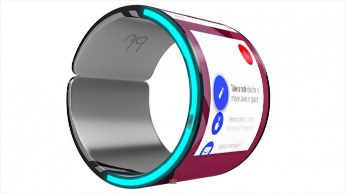 ウェアラブルを再定義するか!?  ウェアラブルスマートフォン「Blu」が遂に登場