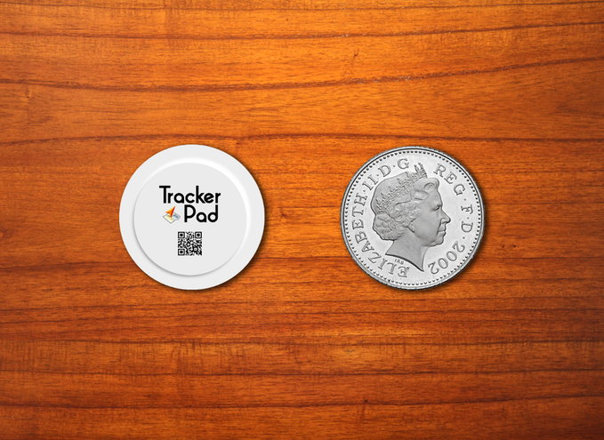 TrackerPadとコイン