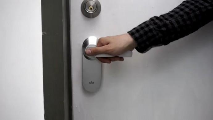 鍵もスマホもなくても鍵を開けられる?指紋認証の「Ola」なら手間なく開錠が可能に