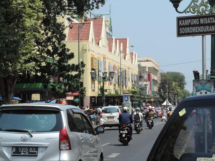 インドネシアの車道
