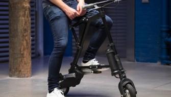 タイヤが小さくても大変じゃない!折り畳み式電動バイク「A-BIKE ELECTRIC」