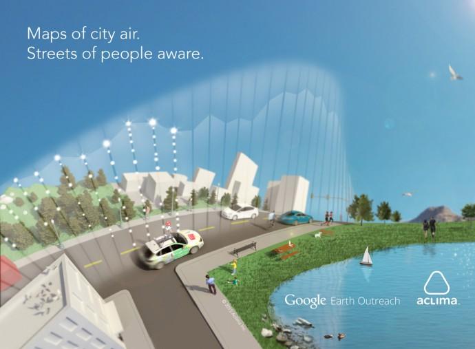 地図上で「大気汚染が見えるようになる」未来が近い
