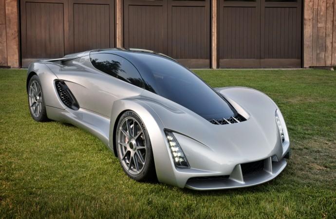 世界初!3Dプリンターで作った700psスーパーカー「BLADE」