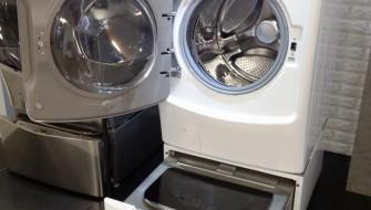 2つの洗濯槽で効率アップ!LGの新型洗濯機「TWIN Wash」
