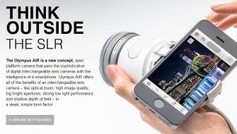 スマホと融合したオリンパスのデジタル一眼カメラ