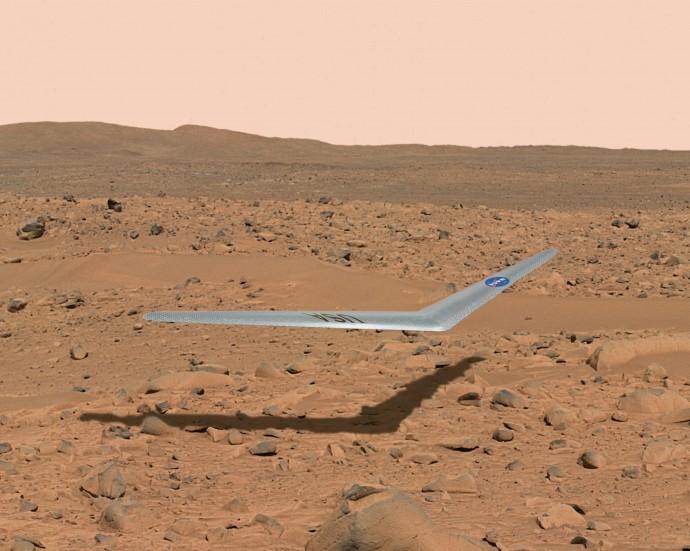 人類の創造物が火星の空を飛ぶ!? NASAが火星の大気中でグライダーを飛ばす実験を開始