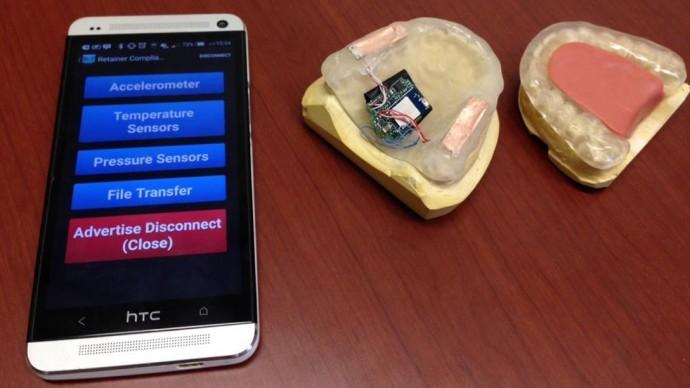 Bluetoothでtoothを治す!?  歯ぎしりや口内のデータを検出するマウスピース