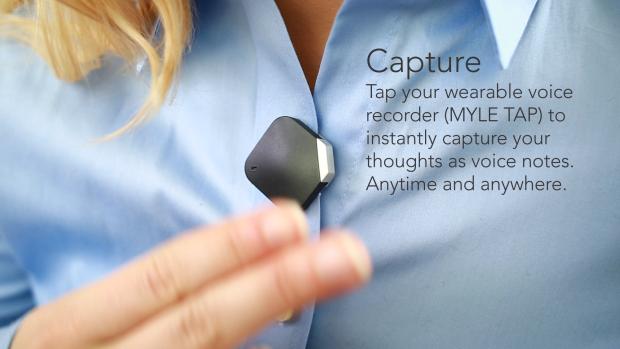 思いついたアイディアを記録してくれるウェアラブル「MYLE TAP」が優秀すぎる