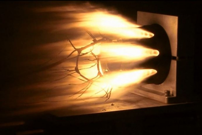 3Dプリンターで作られたミサイルブースター