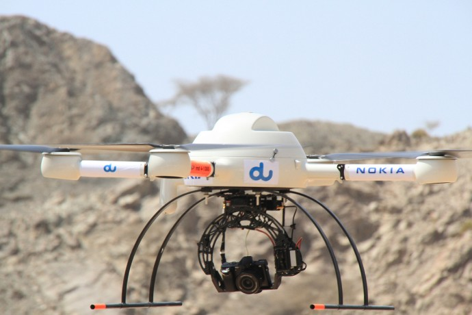 nokia_uses_drones_for_los_tests