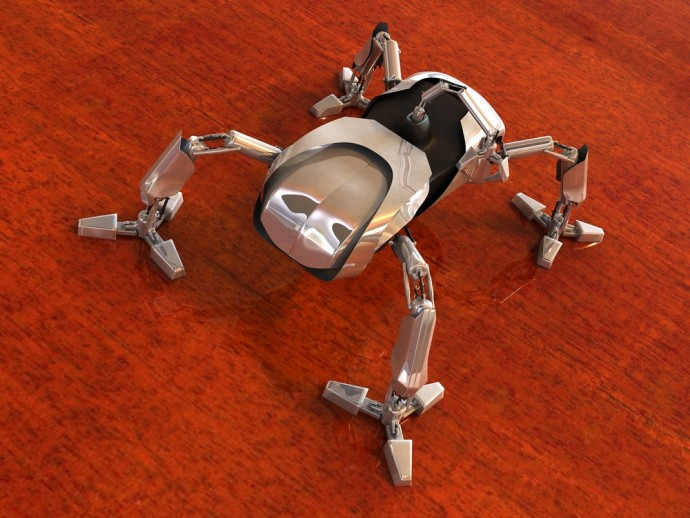 研究者は大真面目!? 実験を重ねてたどり着いた「〇〇型ロボット」