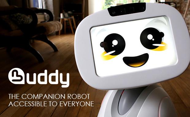 子供と遊んだりお留守番もできる!家族のお友達ロボット「BUDDY」