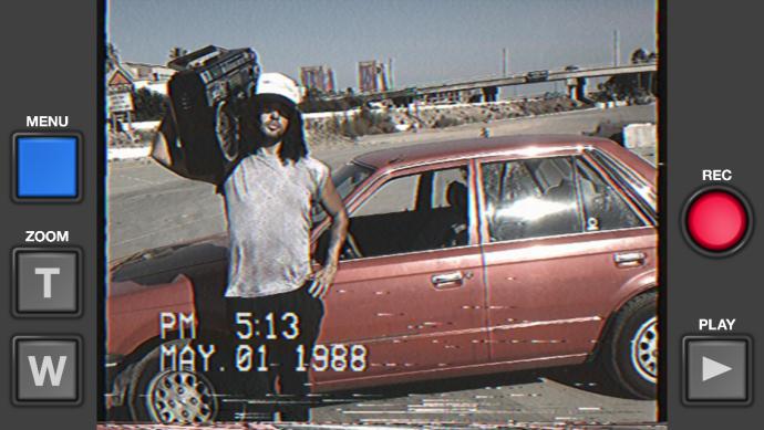 VHS Camcoderの映像例