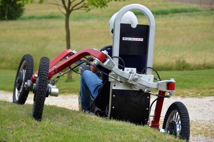 Concept véhicule électrique - Swincar