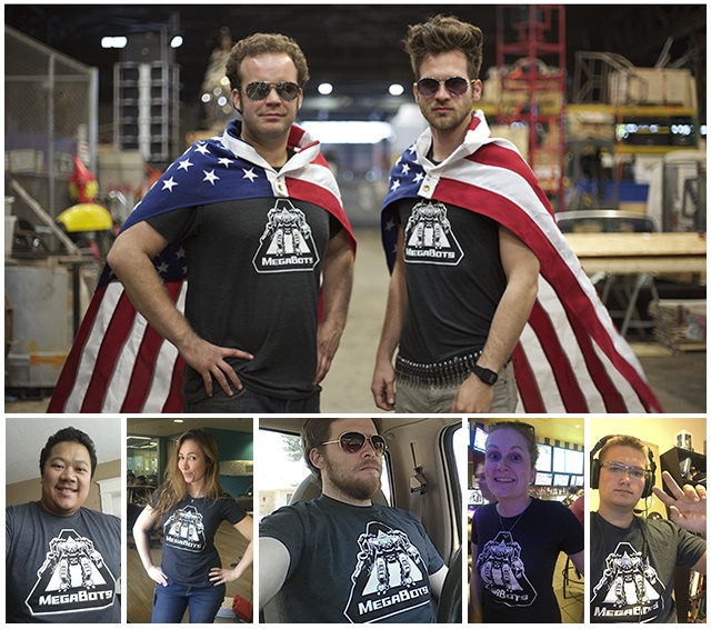 Support Team USA in the Giant Robot Duel! - KICKSTARTER