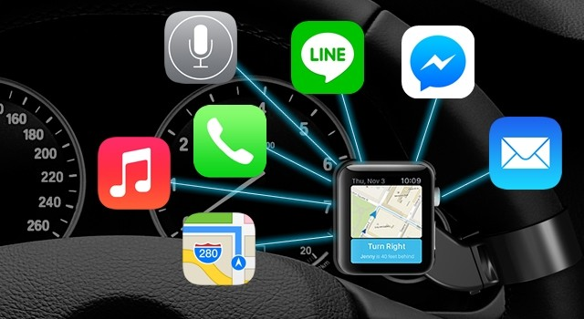 デキる人は使ってる!? Apple Watchを「ステアリングリモコン」化する専用ホルダー