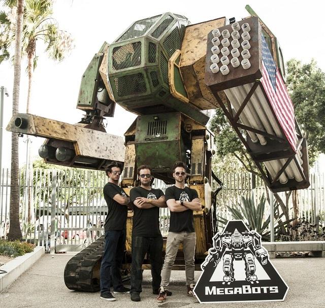 【続報】白熱化する「日米巨大ロボット対決」、アメリカが更なる本気を出してきた