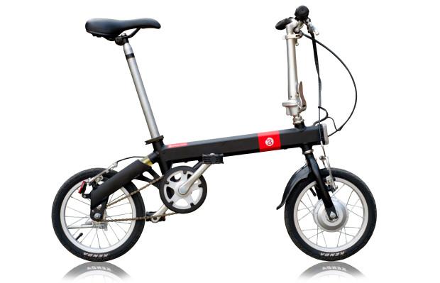 乗換案内もする「スマート」折りたたみ電動自転車