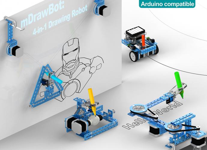 海外で話題になった「自動描画ロボット」がついに日本上陸