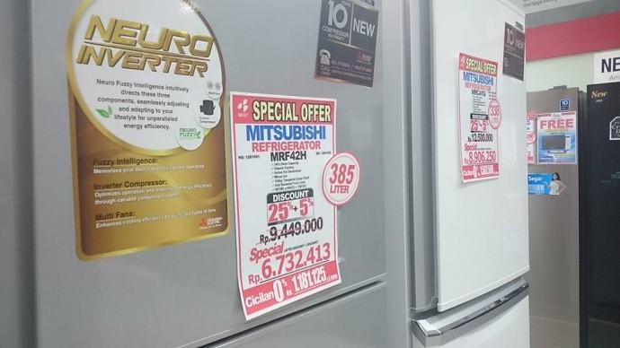 インドネシア・冷蔵庫(澤田オフィス提供)