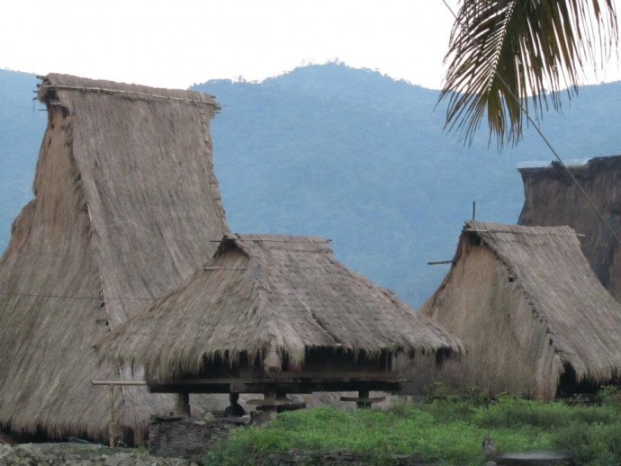フローレス島中部の集落(澤田オフィス提供)