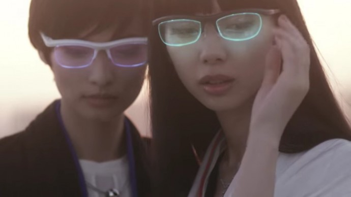 雰囲気メガネ