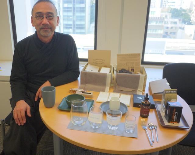 食器もデザートも日本独自のものを開発したいと話す堀淵清治氏