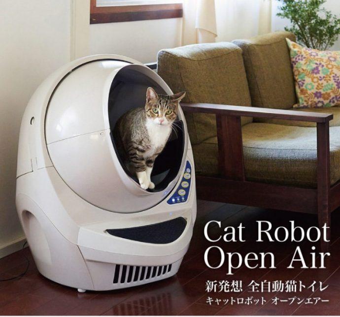 キャットロボット Open Air