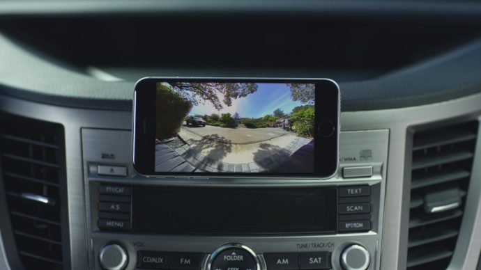 『Pearl RearVision』スマホがモニター